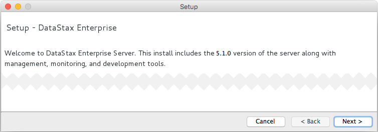 Using the DataStax Installer to install on Mac OS X | DSE 5 1 Dev guide