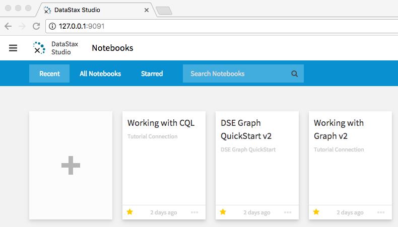 Installing and running DataStax Studio 2 0 | DSE 5 1 Dev guide