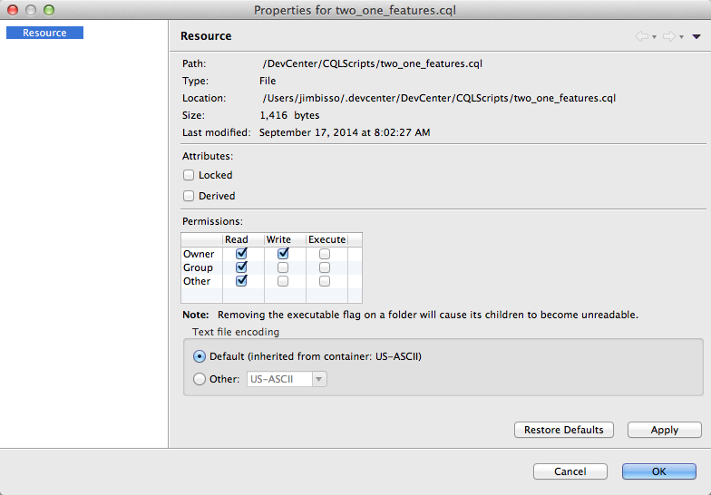 CQL Scripts | DataStax DevCenter